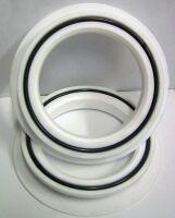 Teflon (PTFE) caulking rings