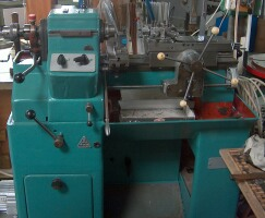 TOS lathe with turret