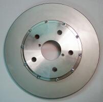 Aluminium féktárcsaközép