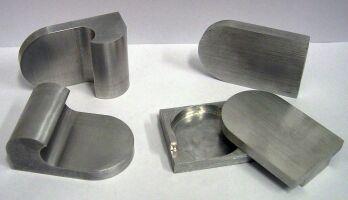 Single aluminium decoration elements