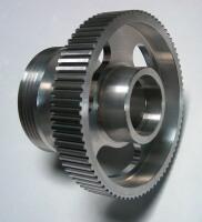 kompresszorhoz készült bordásszíjtárcsa
