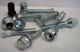 Wheel bolts and nuts