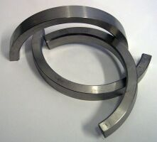 Distance maker half-ring pairs by stainless steel