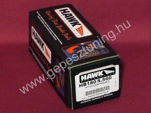 Hawk REAR brake pad - HB180S.560