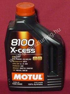 MOTUL 8100 X-cess 5W-40 (2 liter)