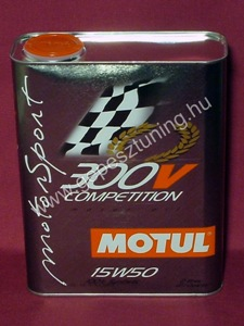 Motul 300V Competition 15W-50 (2 liter)